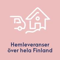 Hemleveranser över hela Finland