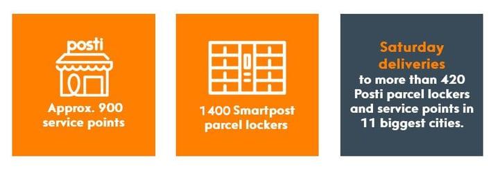 Pick up parcels